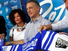 El lehendakari, Íñigo Urkullu, felicitó a la Real Sociedad. EFE