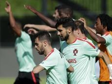 André Gomes no sabrá su futuro hasta el final. EFE