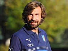 A Pirlo no le gustó la actitud de Italia ante Suecia. EFE/Archivo