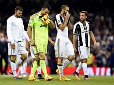 Chiellini recordó la derrota de la Juventus ante el Real Madrid en Cardiff. EFE