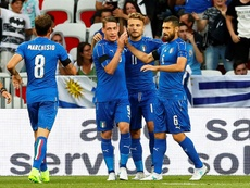 A Itália bateu confortavelmente o Liechtenstein por 5-0. EFE