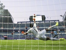 Wuilker Faríñez podría dar el salto y llegar al fútbol europeo. EFE/Archivo