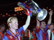 Em sua época de atleta do Barcelona, Koeman marcou cinco gols contra o Real Madrid. EFE