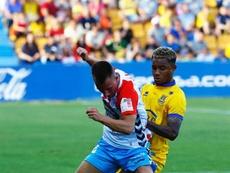 Nelson ya no defenderá más los colores del Alcorcón. EFE/J.P.GANDUL