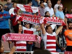 El Granada quiere su estadio lleno para recibir al Oviedo. EFE/Archivo
