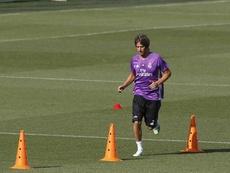 Fabio Coentrao no volverá a entrenarse con el Real Madrid. EFE/Archivo