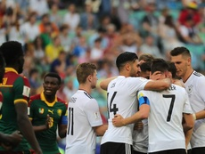 Germany are through to the semis after topping their group. AFP