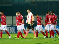 Independiente Medellín empató a uno ante Independiente Santa Fe. EFE
