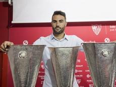 Iborra mandó un mensaje de ánimo al Sevilla. EFE