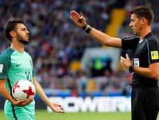 Silva, mejor jugador de la Liga de las Naciones. AFP