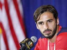 Bryan Ruiz no ha decidido qué hacer si Costa Rica se clasifica para el próximo Mundial. EFE/Archivo
