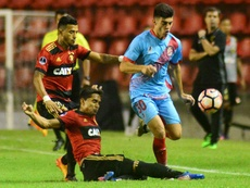 Sport Recife venció por 2-1 a Arsenal de Sarandí. EFE/Archivo