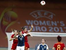 España venció a Austria por 0-1. EFE/Archivo