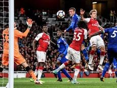 El Leicester no gana en casa del Arsenal desde septiembre de 1973. EFE