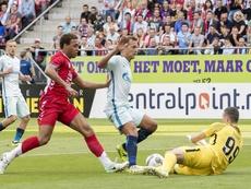 Le meilleur buteur de la Eredivisie jouera pour le Nigéria. EFE/Joep Leenen