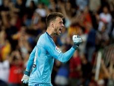 Neto è il nuovo portiere del Barcellona. AFP