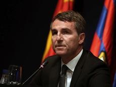 L'ancien secrétaire technique du Barça, possible successeur de Alemany à Valence. EFE