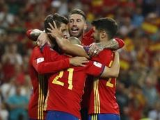 Ce soir l'Espagne affronte le Liechtenstein. EFE
