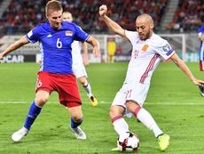 Según UEFA, Liechtenstein ocupa el puesto 31 de las selecciones europeas. EFE