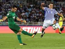 Toño Ramírez podría volver a jugar en Anoeta. EFE/Archivo