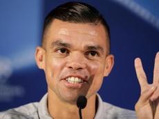 Pepe elogió a Militao. EFE