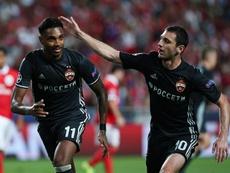 Le CSKA Moscou remporte le premier match de Ligue des champions contre Benfica. EFE
