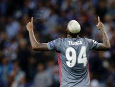 Talisca marcou dois gol na última partida do Besiktas. EFE
