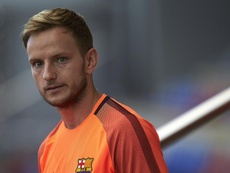 Croatia confrim that Rakitic will not play due to injury. EFE/Archivo
