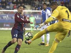 Cuéllar podría perderse el próximo partido ante el Betis.EFE