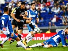 El Celta quiere seguir escapando ante un Espanyol con ganas de agradar. EFE