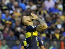Benedetto no quiso valorar el juego rival. EFE/Archivo