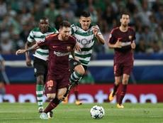 Battaglia explica como foi marcar Messi. EFE