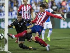 El Atlético dejará en Madrid haciendo su pretemporada a Giménez, Arias y Thomas. EFE