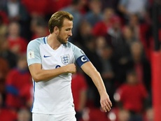 L'Angleterre trébuche et retarde sa qualification pour l'Euro. AFP