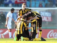 Peñarol está viviendo un gran momento. EFE
