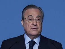 Larrea reconoció que Florentino se quejó del arbitraje. EFE/Archivo
