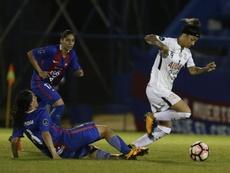 Corinthians, América de Cali, UAI Urquiza y Santiago Morning completan los cuartos de final. EFE