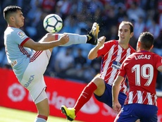 Godin could be replaced by Hermoso and Milenkovic. EFE