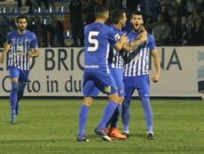 Desde febrero ningún equipo ha marcado en El Toralín a la Ponferradina. EFE