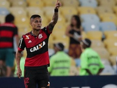 Flamengo sufrió para pasar a semifinales. EFE