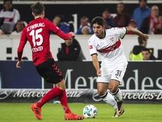 Stenzel jugará en el Stuttgart la siguiente temporada. EFE