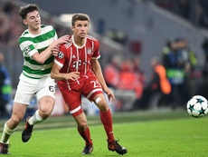 Arsenal are intent on signing Celtic left-back Tierney. EFE