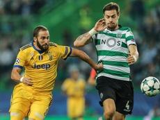 Coates podría abandonar el Sporting de Portugal. EFE