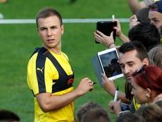 El Borussia Dortmund quiere seguir contando con Götze. EFE