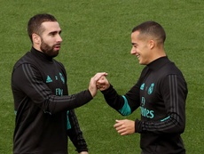Encore des mauvaises nouvelles pour le Real Madrid. EFE