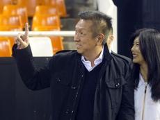 La posible salida de Peter Lim se antoja complicada en Valencia. EFE