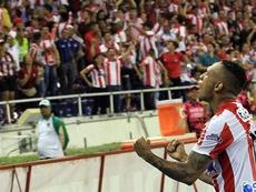 Jarlan Barrera y los dos clubes consiguieron llegar a un acuerdo. EFE
