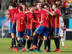 España goleó a Islandia. EFE/Archivo