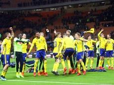 Suecia dejó sin Mundial a Italia y repite haciendo lo propio con Alemania. EFE