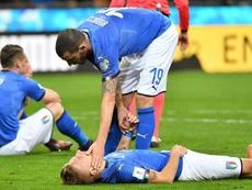 Lopetegui y Ramos se pronunciaron sobre la eliminación de Italia. EFE